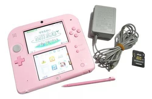 Nintendo 2ds Modelo Pink Original Nintendo