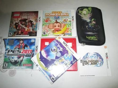 Nintendo 3 ds caixa! caixas super mario 3 d e outras! leia!!