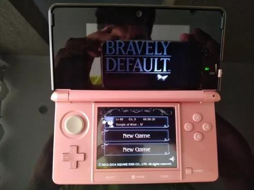 Nintendo 3ds com 4 jogos
