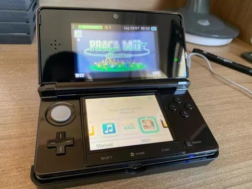 Nintendo 3ds completo + 3 jogos. tudo original! promoção!!