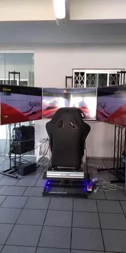 Simulador de corrida de carros - cockpit/motion - gtconcept
