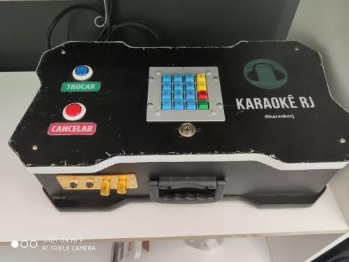 Videoke / karaoke / musibox portátil com sist