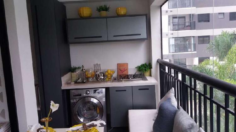 Apartamento para venda tem 40 metros quadrados com 1 quarto
