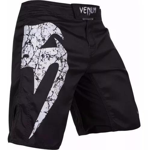 Bermuda mma jiu jitsu venum giant preta/ branca - original