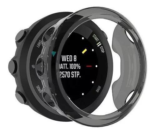 Capa case protetora silicone p/ relógio garmin forerunner