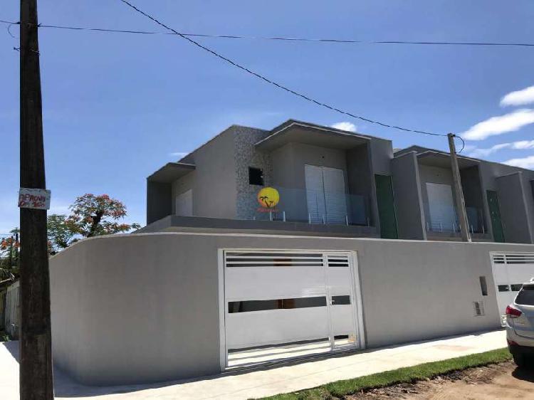 Casa com 2 dorms, indaiá, bertioga - r$ 330 mil, cod: 3816