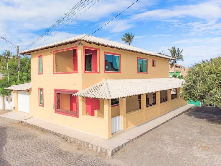Casa de praia à venda - prado - bahia (mobiliada e com