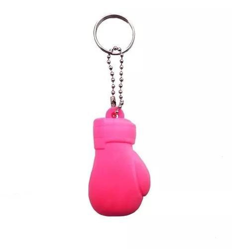 Chaveiro luva de boxe spank rosa