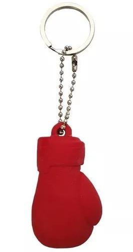 Chaveiro luva de boxe spank vermelho