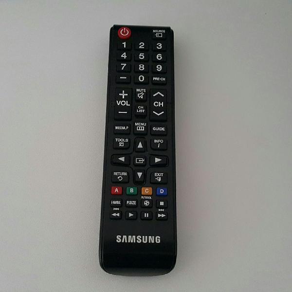 Controle remoto tv samung
