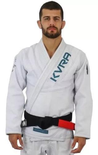 Kimono jiu jitsu kvra shadow branco lançamento