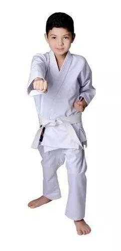 Kimono karate infantil reforçado + faixa grátis