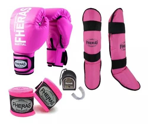 Kit boxe muay thay fheras tradicional variados top.