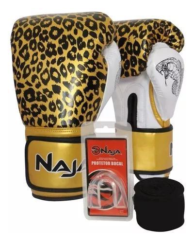 Kit muay thai boxe start luva bandag