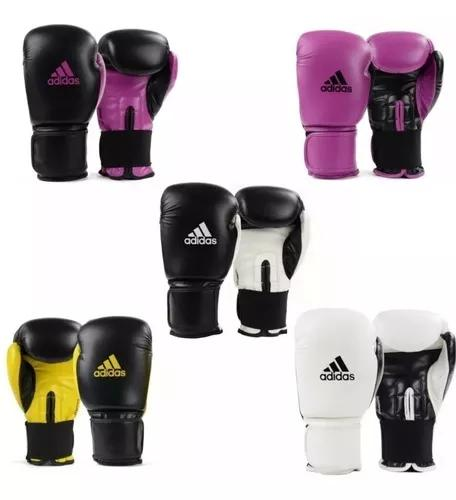 Luva boxe muay thai adidas power 100 colors (escolha a cor)