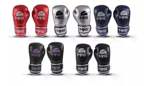 Luva de boxe muay thai kickboxing mks energy (escolha a cor)