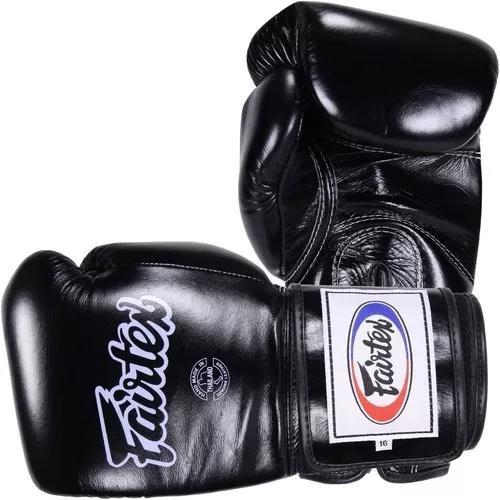 Luva fairtex de boxe e muay thai couro natural importada