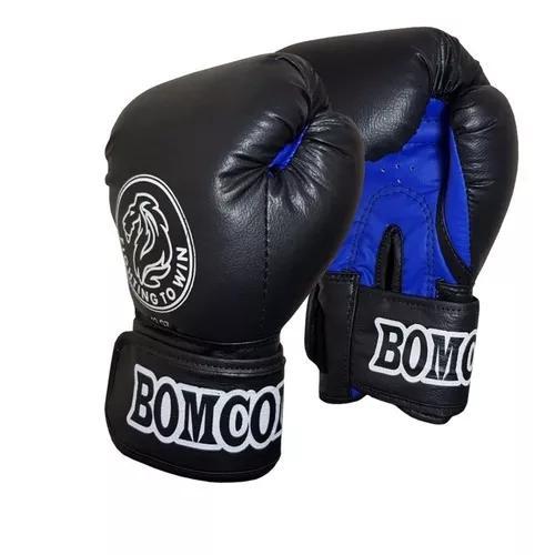 Par de luvas de boxe / muay thai profissional bomcombate