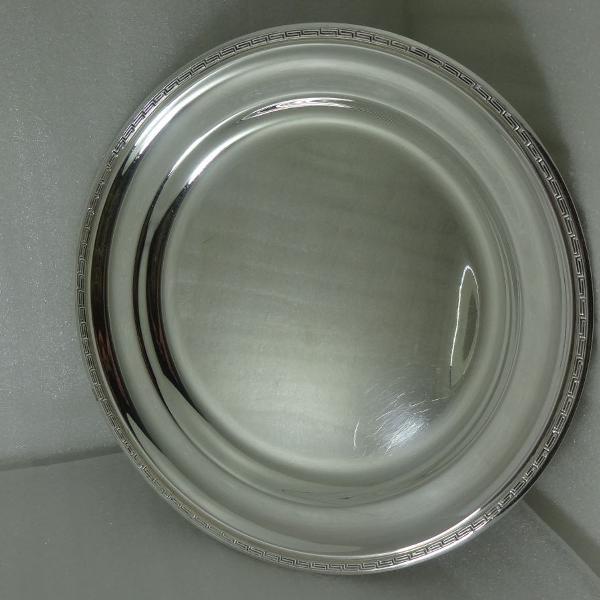 Prato de bolo wolff prata 34 cm diametro lindo !