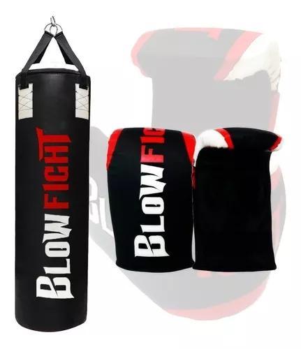 Saco de box 70 cm profissional + luva bate saco