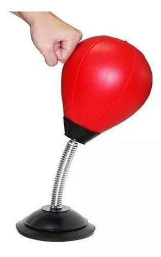 Saco de pancadas boxe soco bola mesa trabalho anti stress