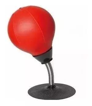 Saco pancadas anti stress de mesa com ventosa buster bola