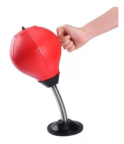 Saco pancadas anti stress de mesa de mesa com ventosa+ bomba
