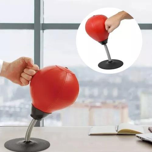 Saco pancadas boxe soco anti stress mesa bola trabalho