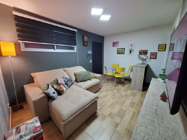 Vendo/alugo apartamento com 50 m², 1 dormitório, sala,