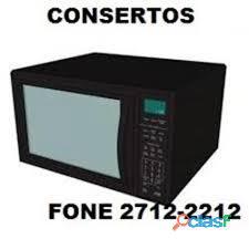 conserto de microondas CAMPO LIMPO PAULISTA fone 2712 2212