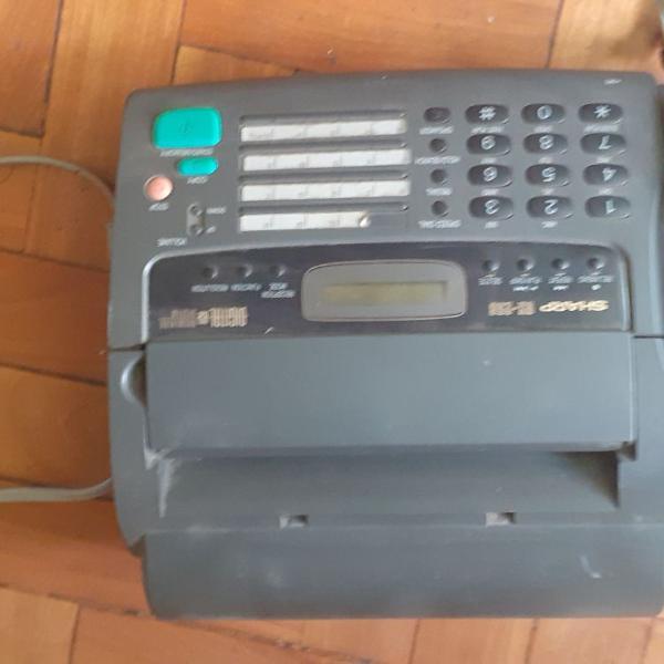Fax sharp com secretaria eletrónica