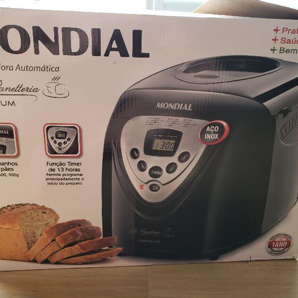 Maquina de fazer pão premium npf51 mondial 110v - usada
