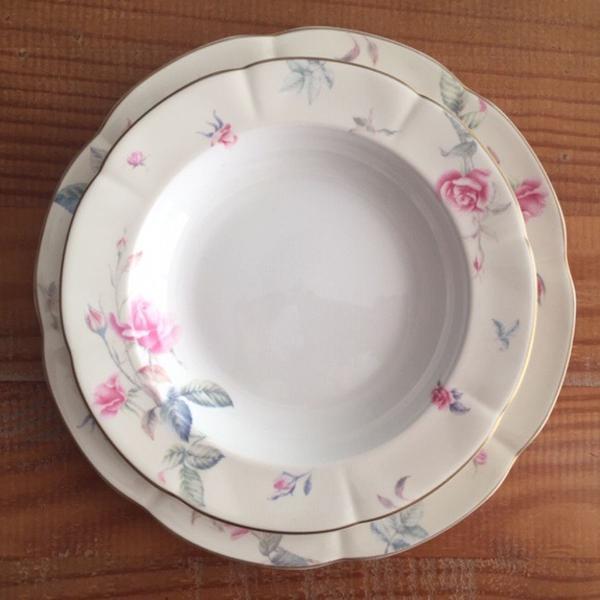 Parelho de jantar em porcelana fina