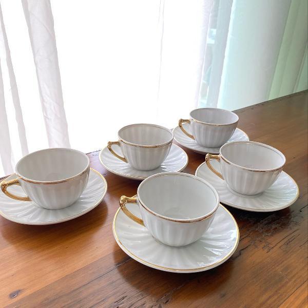Xícaras chá vintage