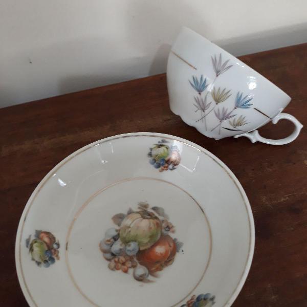 Xicara de chá + bowl schimidt