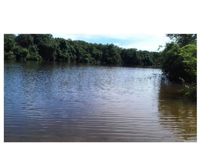 142 alq. dupla aptidão margeada pelo rio araguaia aruanã