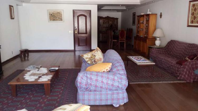Alto luxo para aluguel 260 metros quadrados em copacabana -