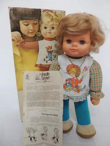 Boneca anda nenê - estrela - anos 80 - funcionando (bh 98)