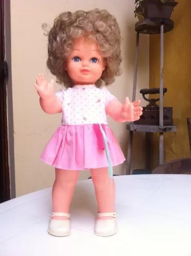 Boneca brinquedo antigo estrela anos 70