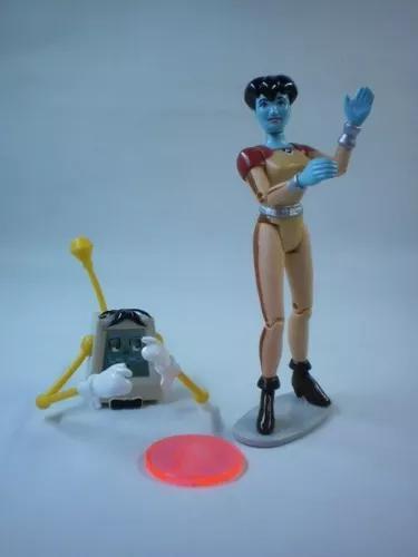 Boneca robô dot cecil reboot ação brinquedo antigo