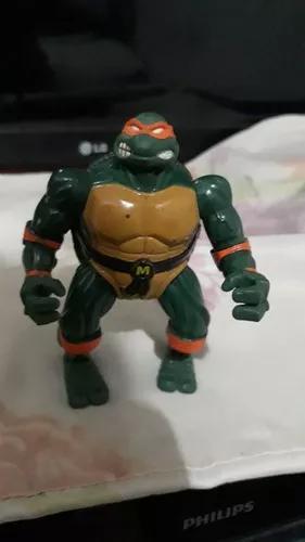Boneco tartaruga ninja michelangelo antigo vintage rarissimo