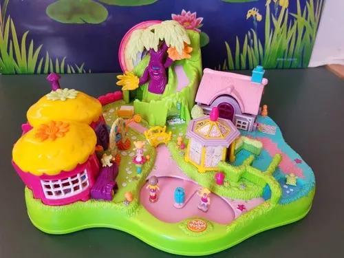 Brinquedo Antigo Polly Pocket Magical Movin Fairyland Bluebi