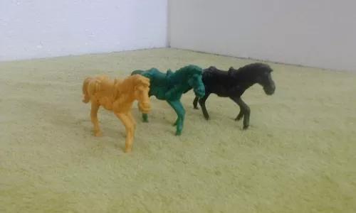 Brinquedo antigo raro cavalo gulliver forte apache lote c 3