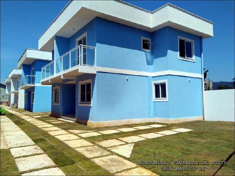 Casa de condomínio para venda com 97 metros quadrados com 2
