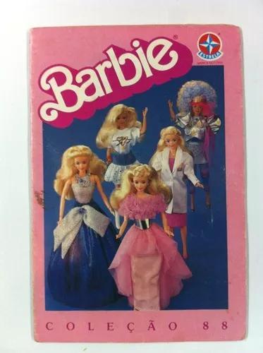 Encarte boneca barbie brinquedo antigo coleção 1988