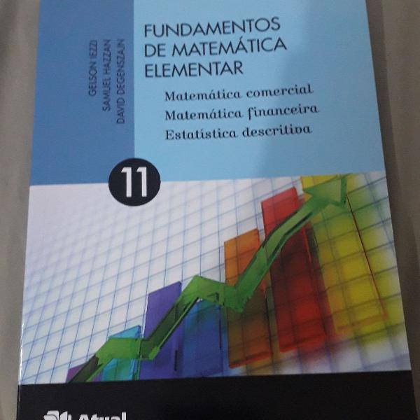 Fundamentos da matemática elementar vol 11 mat. comercial