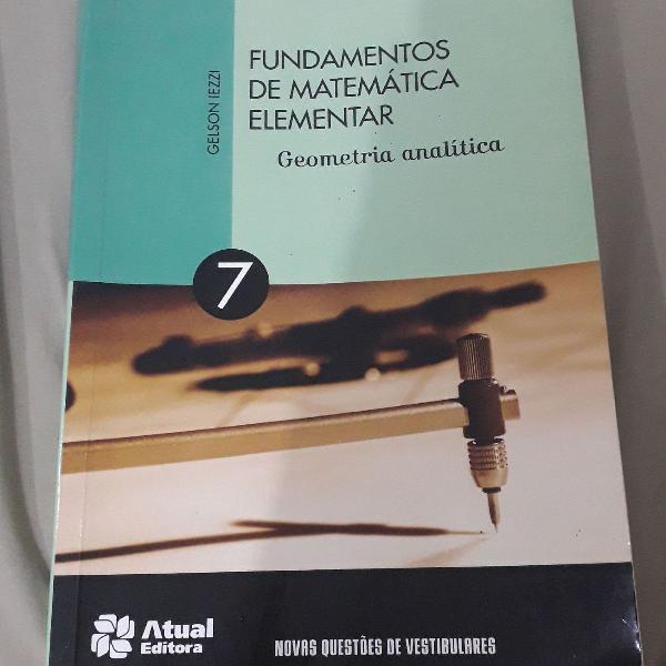 Fundamentos da matemática elementar volume 7 geometria