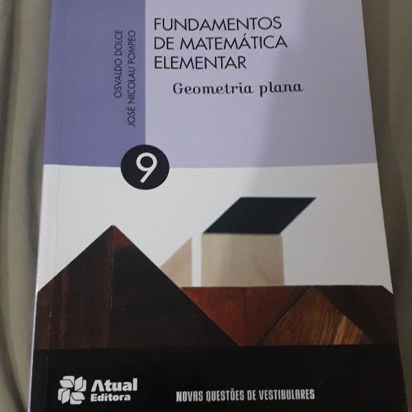Fundamentos da matemática elementar volume 9 geometria
