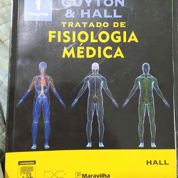 Livro guyton e hall 12a edição 3 volumes