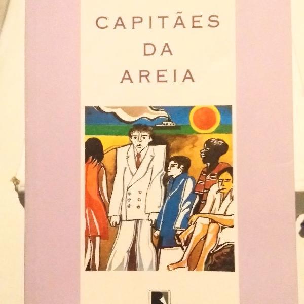 Livro capitães de areia.